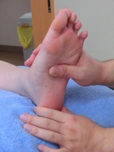 足底反射爪もみ療法2